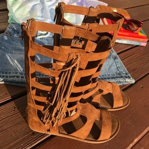 3/$20 Gladiator Sandals by Mia Youth 5 (Women's 7)